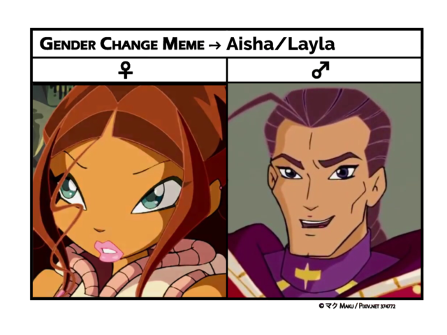 """Disagree? Tell me — if you literally genderbent Aisha, would """"he"""" be that different from Nabu?"""